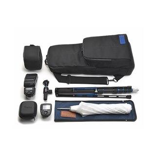 ニッシン、別売り「ポータブルライティング・キット」専用の機材バッグ