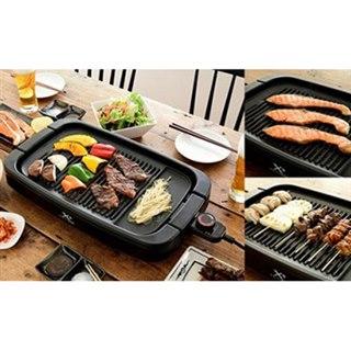 YAMAZEN、ワイドサイズのプレートを採用した「減煙焼き肉グリル」