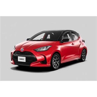 トヨタが「ヤリス」を一部改良 全車速追従機能付きACCを主要グレードに標準装備