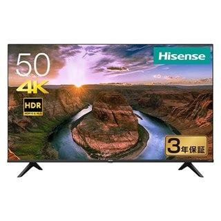 50V型が57,900円、ハイセンス製4Kチューナー内蔵液晶テレビをゲオが先行販売