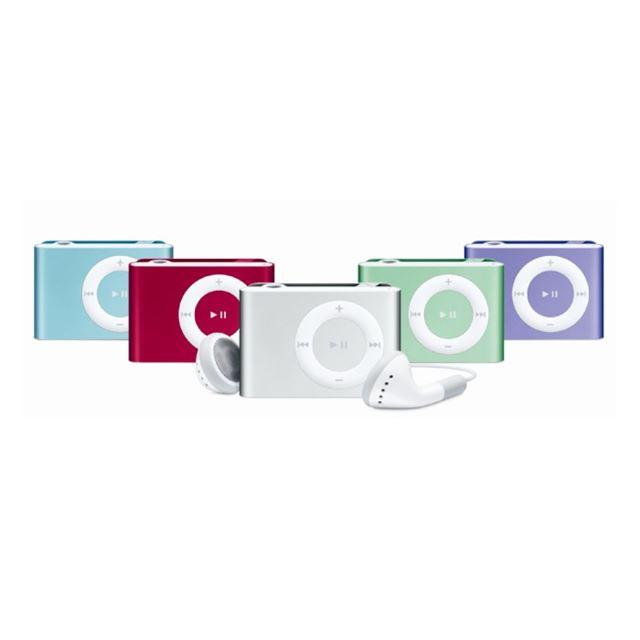 [iPod shuffle] クリップ一体型のポータブルオーディオ (2GB)