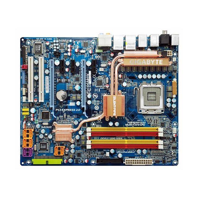 [GA-EX38-DQ6] 独自の品質規格「Ultra Durable2」に対応したX38 Express搭載LGA775用ATXマザーボード