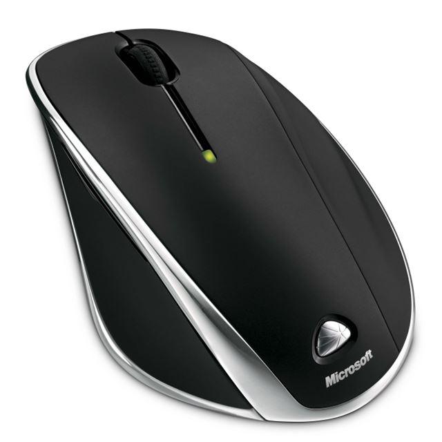 [Microsoft Wireless Laser Mouse 7000] エルゴノミクスデザインの充電式ワイヤレスレーザーマウス(ブラック)