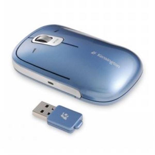 [72283JP] 2.4GHzワイヤレスとレーザーセンサーを採用した薄型ワイヤレスマウス
