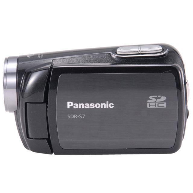 [SDR-S7] 小型軽量ボディにSDHCカードスロットを搭載したSDビデオカメラ。直販価格は44,800円(税込)