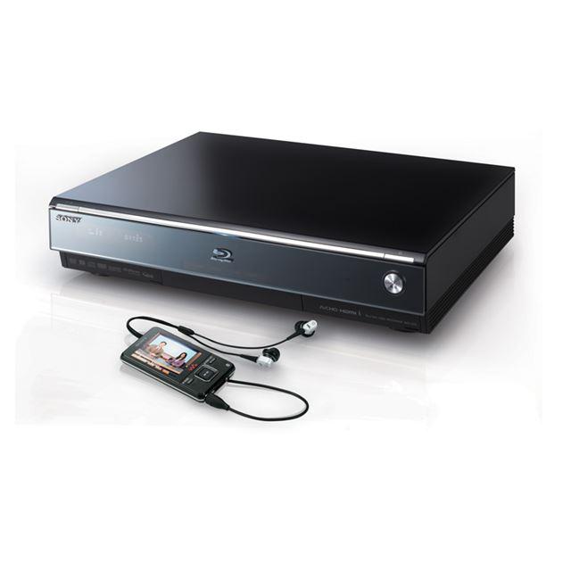 [BDZ-A70] 録画した番組をウォークマンやPSPに転送可能なBDレコーダー(320GB)。市場想定価格は170,000円前後