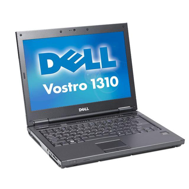 [Vostro 1310] スロットローディング式光学ドライブを搭載したBTO対応の13.3型液晶搭載ノートPC。価格は121,800円(税込)〜