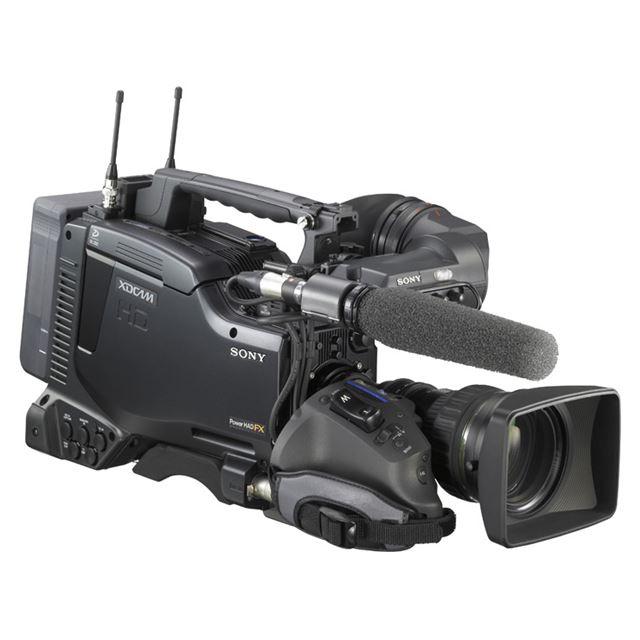 [PDW-740] 2/3型フルHD FIT型CCDを搭載したXDCAM HD422カムコーダー。価格は441万円(税込)