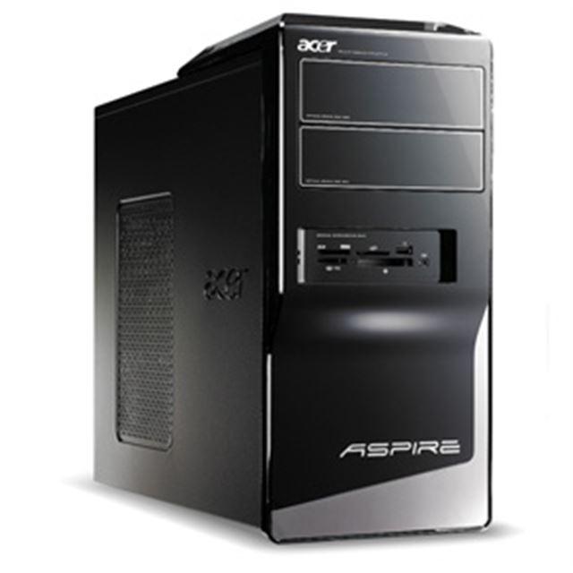 [Aspire M5201 ASM5201-A3] Athlon 64 X2 5600+やAMD 780Gを搭載したデスクトップPC。市場想定価格は65,000円前後