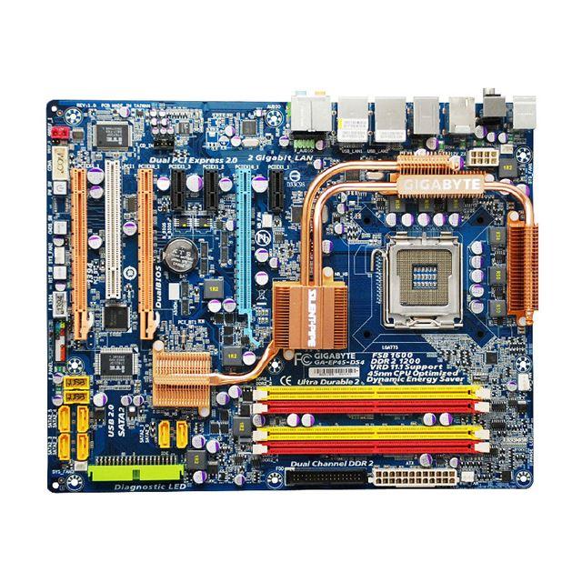 [GA-EP45-DS4] Intel P45/ICH10Rチップセットや3種類のクリアスイッチを搭載したLGA775用ATXマザーボード。市場想定価格は23,800円前後