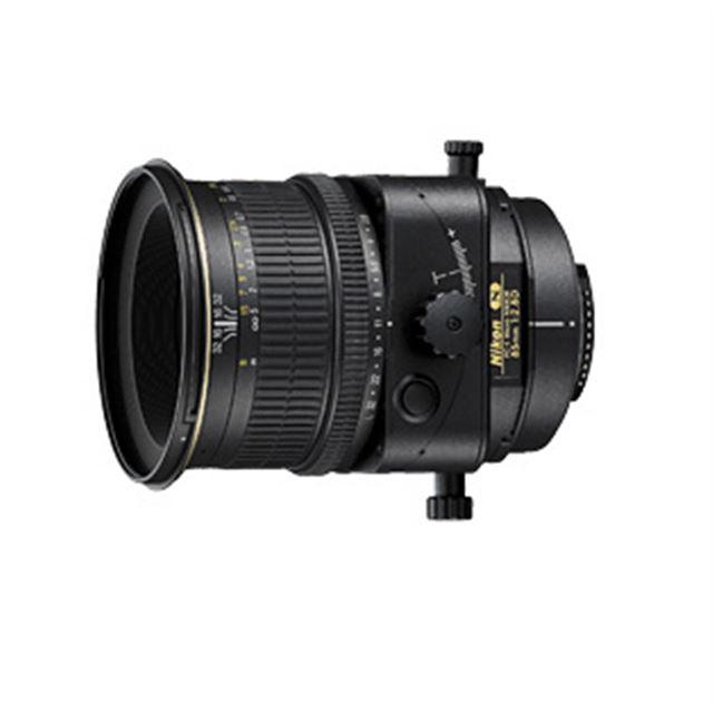 [PC-E Micro NIKKOR 85mm F2.8D] アオリ撮影のできる望遠単焦点レンズ(85mm/最短撮影距離0.39m)。価格は315,000円(税込)