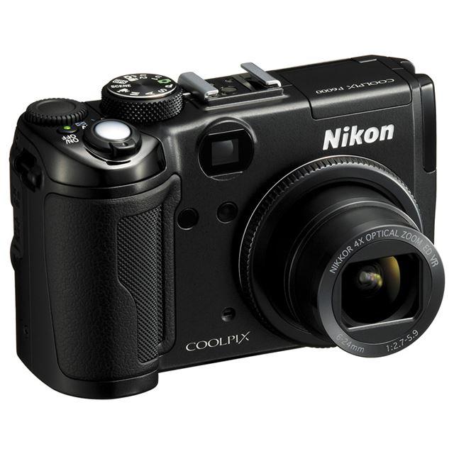 [COOLPIX P6000] GPS/有線LAN/RAWファイルの記録機能などを備えたコンパクトデジタルカメラ(1350万画素)。価格はオープン