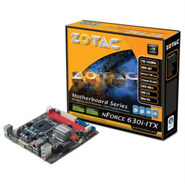 [ZOTAC NFORCE 630i-ITX] GeForce7100+nForce 630i搭載LGA用mini-ITXマザーボード