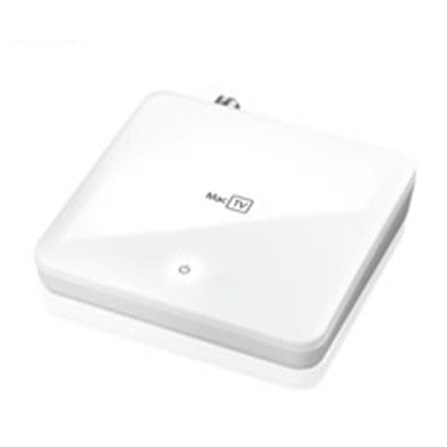 [GV-MACTV] USBバスパワー駆動に対応したMac向け地上デジタル放送対応TVキャプチャBOX
