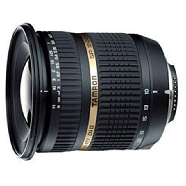 [SP AF10-24mm F/3.5-4.5 DiII LD Aspherical [IF] (Model B001] AF用モーターを内蔵したデジタル一眼レフ専用広角ズームレンズ(ニコン用/最短撮影距離0.24m)。価格は71,400円(税込)