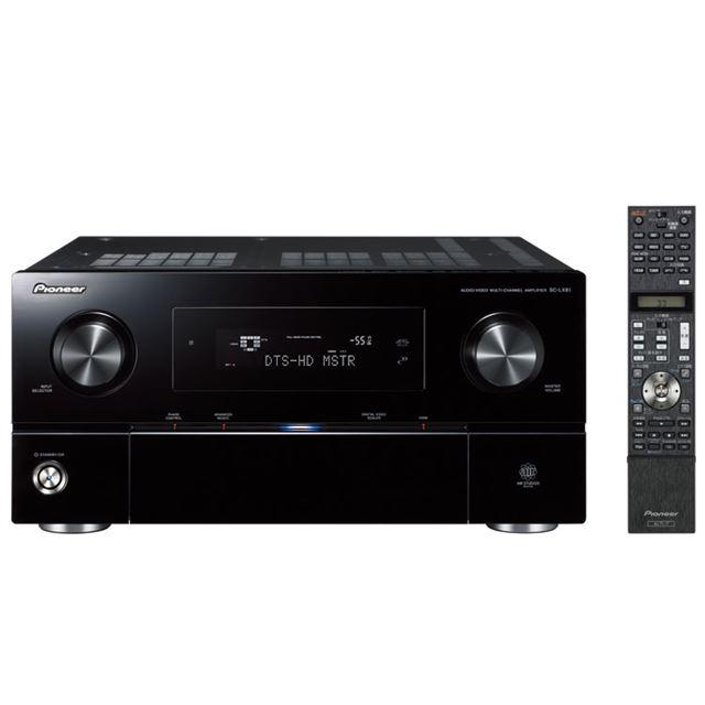 [SC-LX81] ダイレクトエナジーHDアンプを搭載したAVマルチチャンネルアンプ(100W×7ch)。価格は335,000円(税込)
