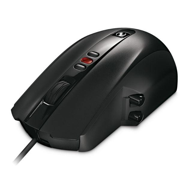 [SideWinder X5] 高性能レーザーセンサー/3つの感度変更ボタン/カスタマイズ可能な5つのボタンを備えたゲーマー向けレーザーマウス。本体価格は6,600円
