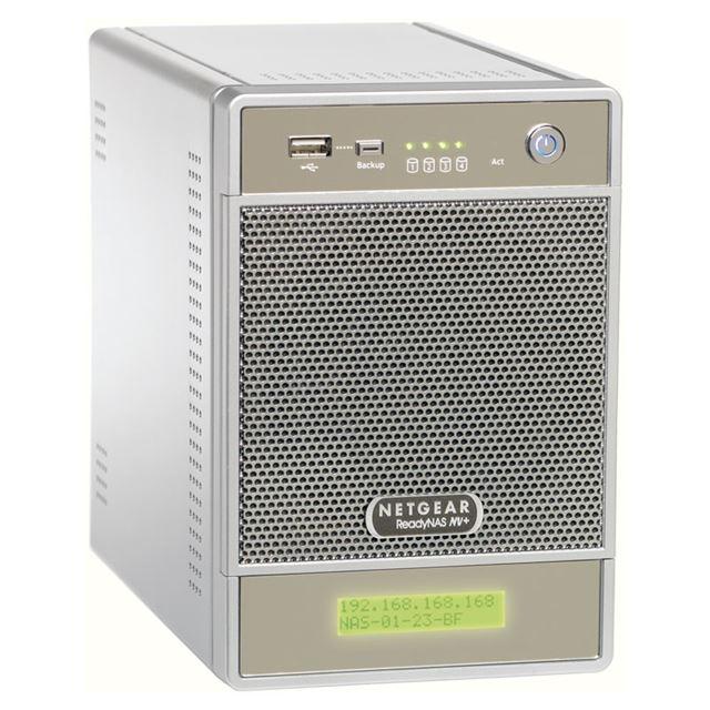[RND4410] X-RAIDを搭載したデスクトップ型NAS(1TB×4)。価格はオープン