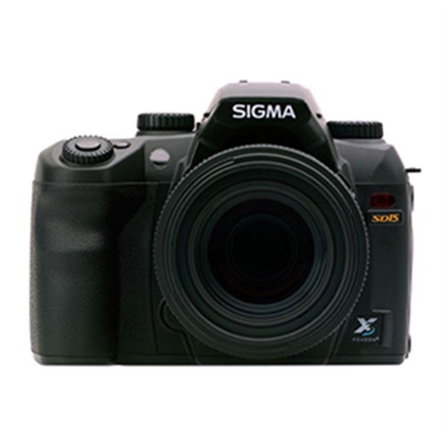 [SD15] 「FOVEON X3 ダイレクトイメージセンサー」や画像処理エンジン「TRUE II」を搭載したデジタル一眼レフカメラ