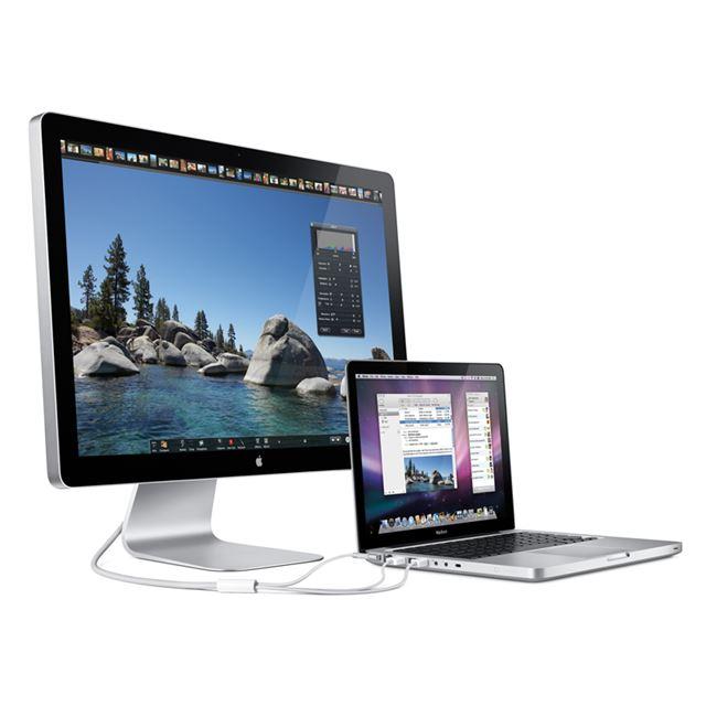 [LED Cinema Display] Mini DisplayPortを備えた新型MacBook用24型液晶ディスプレイ。価格は98,800円(税込)