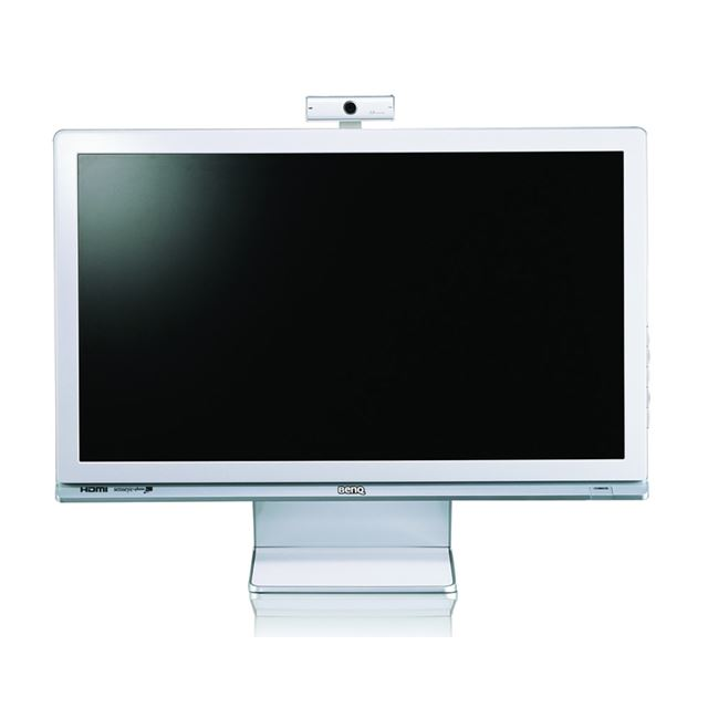 [M2400HD] 200万画素Webカメラを備えたフルハイビジョン表示対応24型ワイド液晶ディスプレイ。価格はオープン
