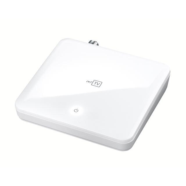 [m2TV GV-MACTV] USB接続に対応したMac用地上デジタル対応TVキャプチャBOX。本体価格は21,000円