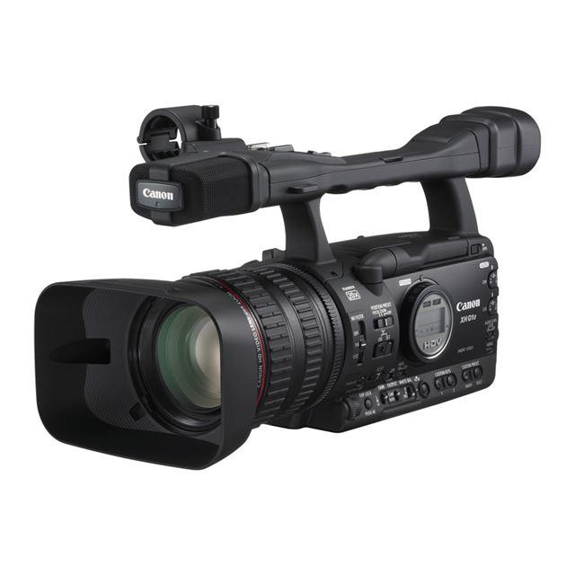 [XH G1S] DIGIC DV II/光学20倍ズームHDビデオLレンズを搭載するHDV規格の業務用ビデオカメラ。(HD-SDI端子/GENLOCK端子/タイムコード入出力端子)。本体価格は80万円