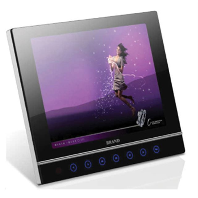 [K-DPF283A] 時計表示やカレンダー表示が可能な8型液晶搭載デジタルフォトフレーム
