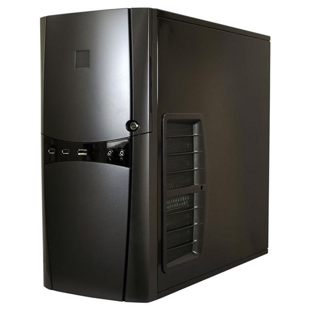 [SONATA ELITE] エアフィルター付きエアインテークや2層構造静音パネルを搭載したATX/Micro-ATX/Mini-ITX対応静音ミドルタワーPCケース。市場想定価格は16,800円前後