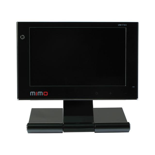 [UM-730] 130万画素WEBカメラやマイクを備えたUSBバスパワー駆動対応7型ワイド液晶ディスプレイ。直販価格は19,800円(税込)