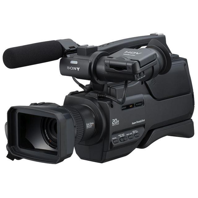 [HVR-HD1000J] 光学10倍カールツァイス「バリオ・ゾナーT*」レンズ搭載のHDVビデオカメラ。価格はオープン