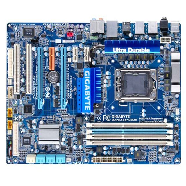 [GA-EX58-UD3R] Intel X58 Expressチップセットを備えたLGA1366用ATXマザーボード
