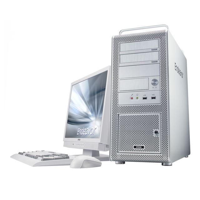 [Endeavor Pro7000] Core i7 965 Extreme Editionなどを実装可能なタワー型デスクトップPC。販売価格は179,970円〜