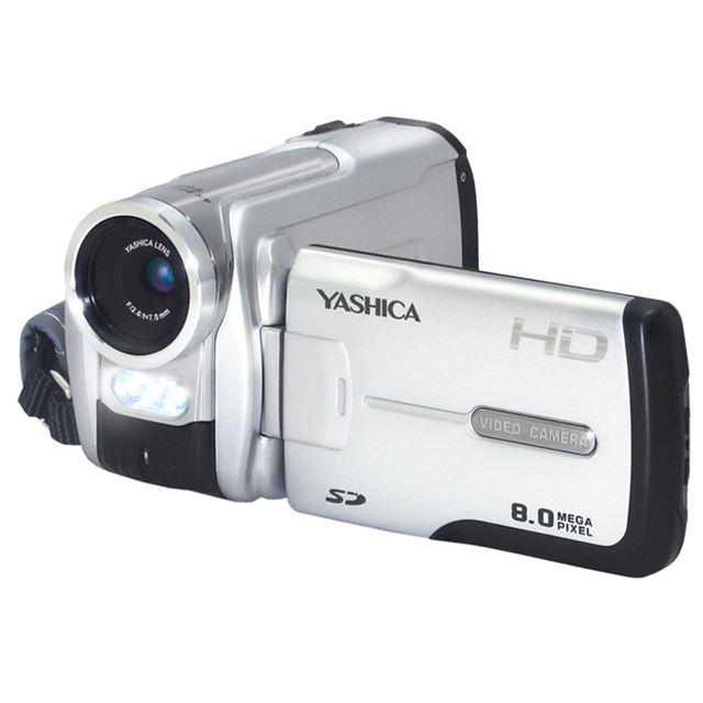 [YASHICA DVC807] 800万画素CMOSやHDMI端子を備えたハイビジョンビデオカメラ。市場想定価格は14,800円前後