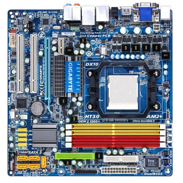 [GA-MA78GM-US2H] AMD 780G+SB700チップセット搭載Socket AM2+用Micro-ATXマザーボード