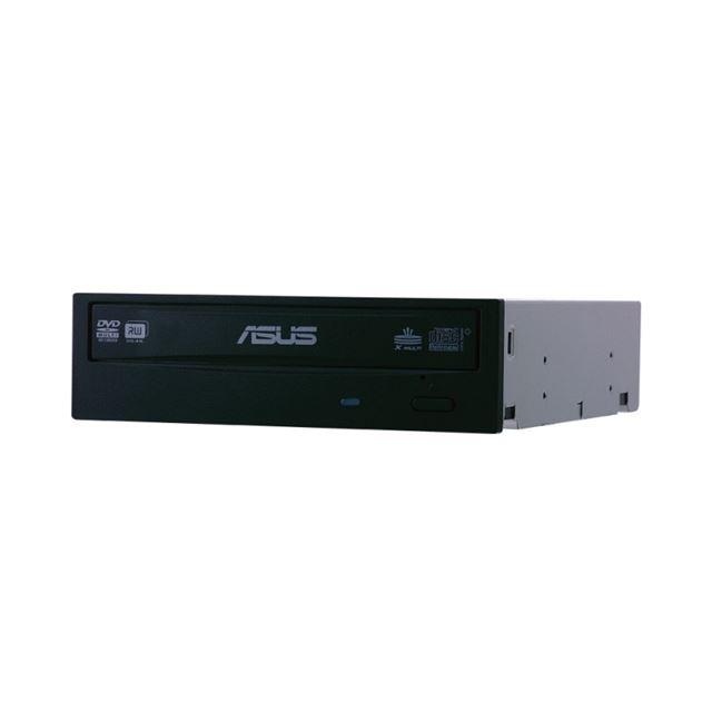[DRW-22B1LT BOX] 22倍速DVD±R記録などに対応したSATA内蔵型DVDスーパーマルチドライブ(黒/白ベゼル付属)