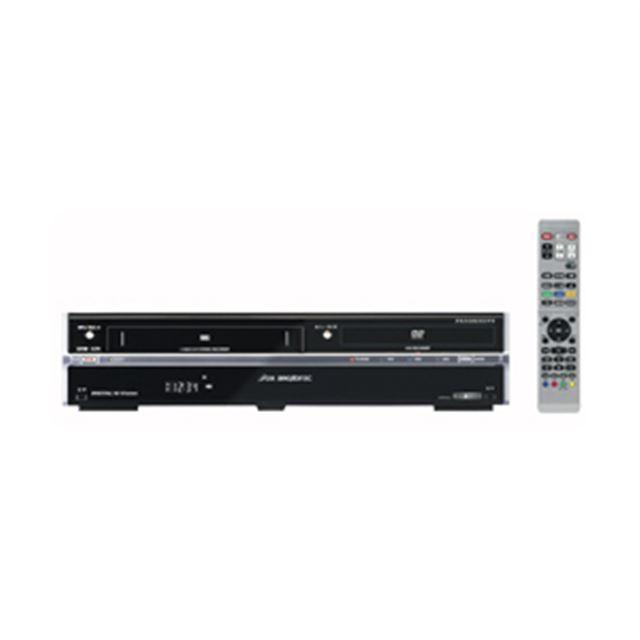 [DXRW250] デジタル放送1番組/アナログ放送1番組の2番組同時録画に対応したHDD搭載VHS一体型DVDレコーダー(250GB)。価格はオ−プン