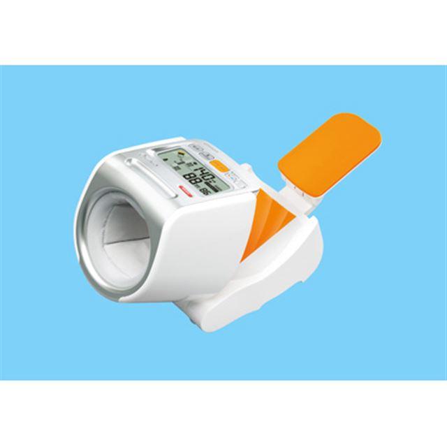 [スポットアーム HEM-1020] 姿勢チェック機能を搭載したデジタル血圧計。価格はオープン