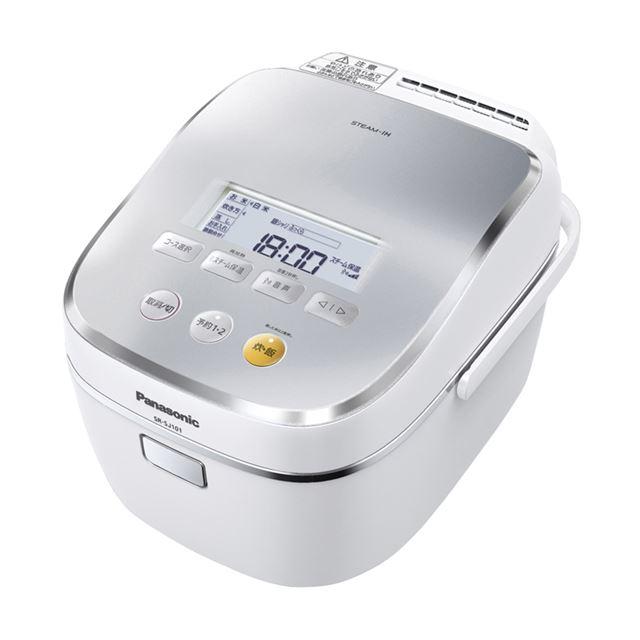 [SR-SJ181] 高耐熱スチーム循環ポンプや大火力竈釜を採用したスチームIHジャー炊飯器(0.18〜1.8L)。価格はオープン