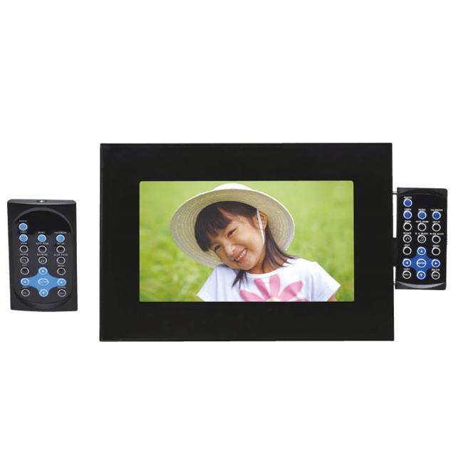 [KDF-072] 1GBメモリーを搭載したWVGA表示対応7型デジタルフォトフレーム