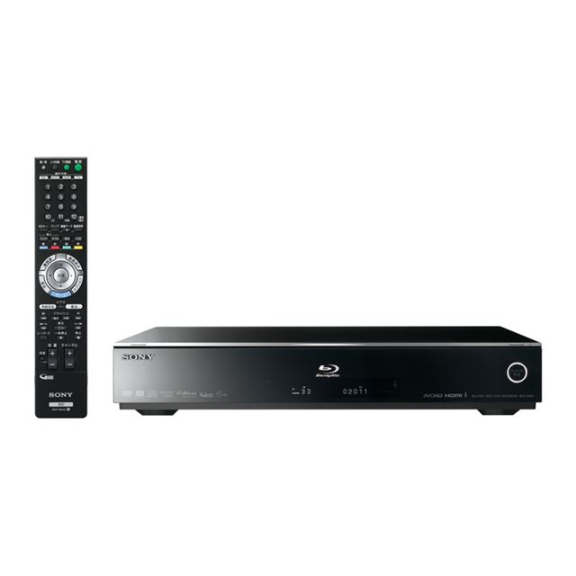 [BDZ-A950] アクトビラ ビデオに対応したHDD搭載Blu-ray Discレコーダー(500GB)。市場想定価格は170,000円前後