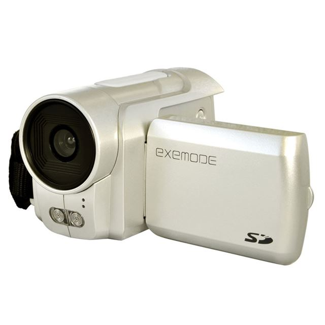 [DV130] 130万画素CMOSを搭載したSDムービーカメラ。市場想定価格は4,980円前後