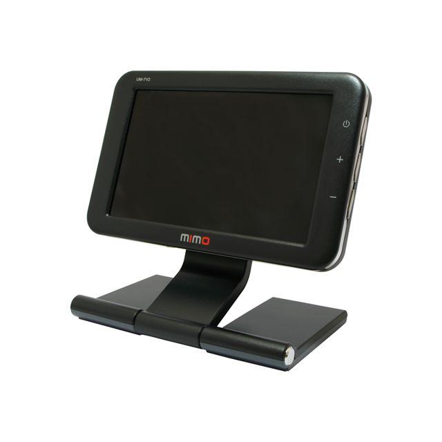 [UM-710/B] USBバスパワー駆動対応7型ワイド液晶ディスプレイ(ブラック)