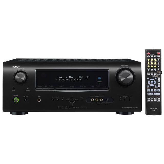 [AVC-1610] HDオーディオフォーマットや Dolby Pro Logic IIzデコードに対応したエントリー向けAVアンプ。価格は55,650円(税込)