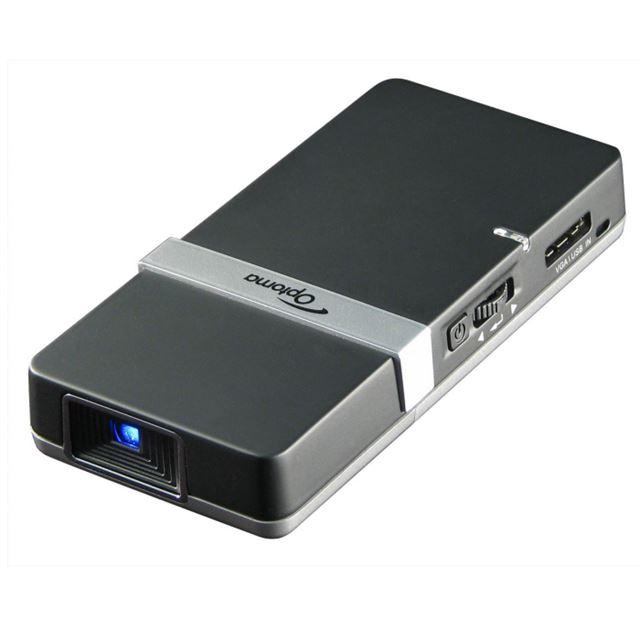 [PK102] 4GBのフラッシュメモリーを搭載した携帯電話サイズの超小型DLPプロジェクター。価格はオープン