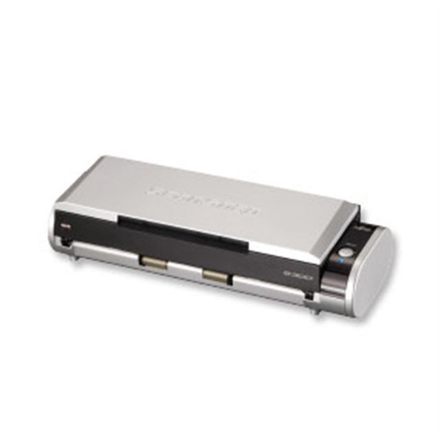 [ScanSnap S300 楽2ライブラリ パーソナル V5.0 セットモデル FI-S300-SRP] ADFや楽2ライブラリ パーソナル V5.0を備えたコンパクトスキャナー。直販価格は33,800円(税込)
