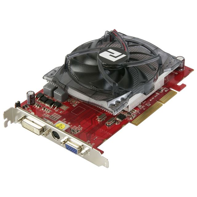 [AG4670 1GBK3-P] Radeon HD4670を搭載したAGP3.0バス用ビデオカード(DDR3-SDRAM 1GBMB)。市場想定価格は16,000円前後