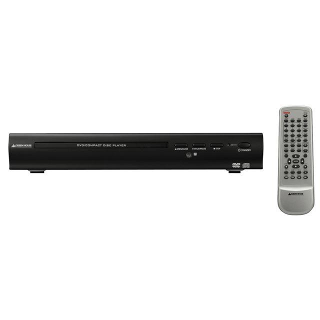[GH-DV100] コンポーネント/コンポジット/S映像端子を備えた再生専用のDVDプレーヤー。直販価格は3,980円(税込)