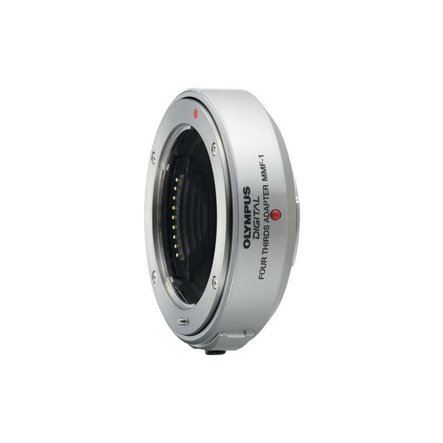 [MMF-1] 「フォーサーズシステム規格」に準拠したレンズ群をマイクロフォーサーズ規格のデジタル一眼カメラで使用できるレンズアダプター。価格は21,000円(税込)