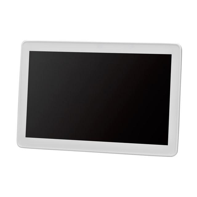 [GHV-DF10SDW] 10.2型ワイドサイズの大画面カラー液晶を搭載したデジタルフォトフレーム。価格はオープン